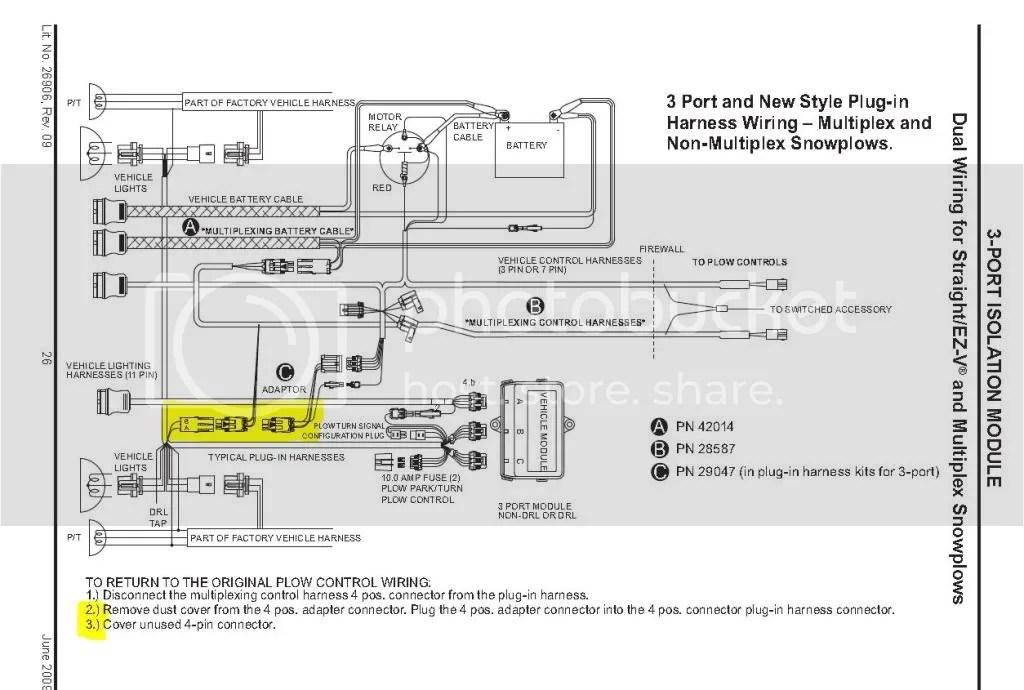 Wiring Diagram For Boss V Plow