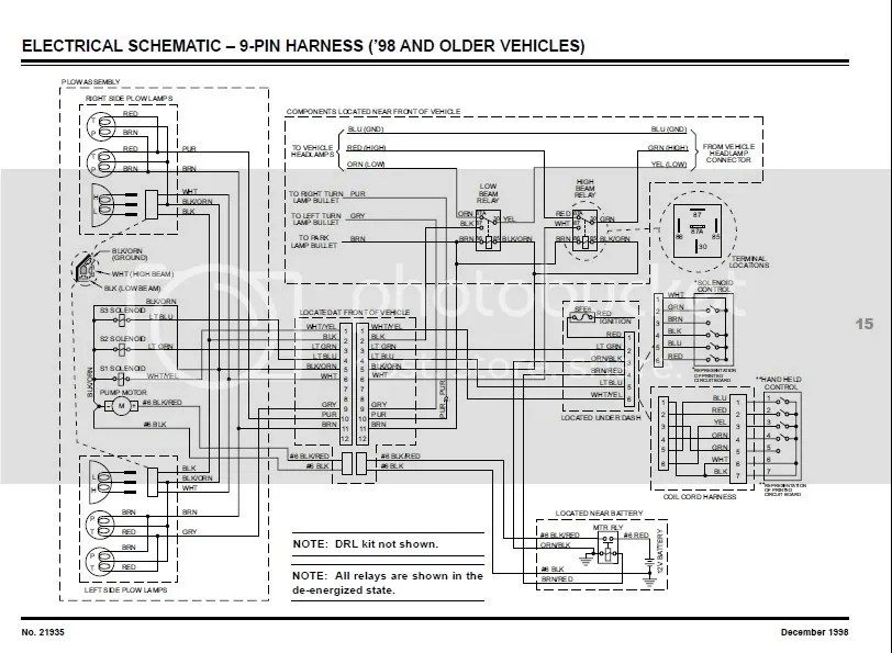 Wiring Diagram Fisher Snow Plow – powerking.co