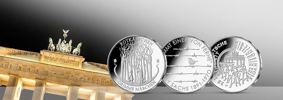 Die Offiziellen 20 25 Euro Silbermunzen
