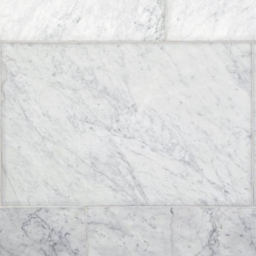 bianco carrara honed marble tile 24 x