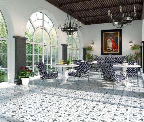 florentina gray ceramic tile 16 x 16