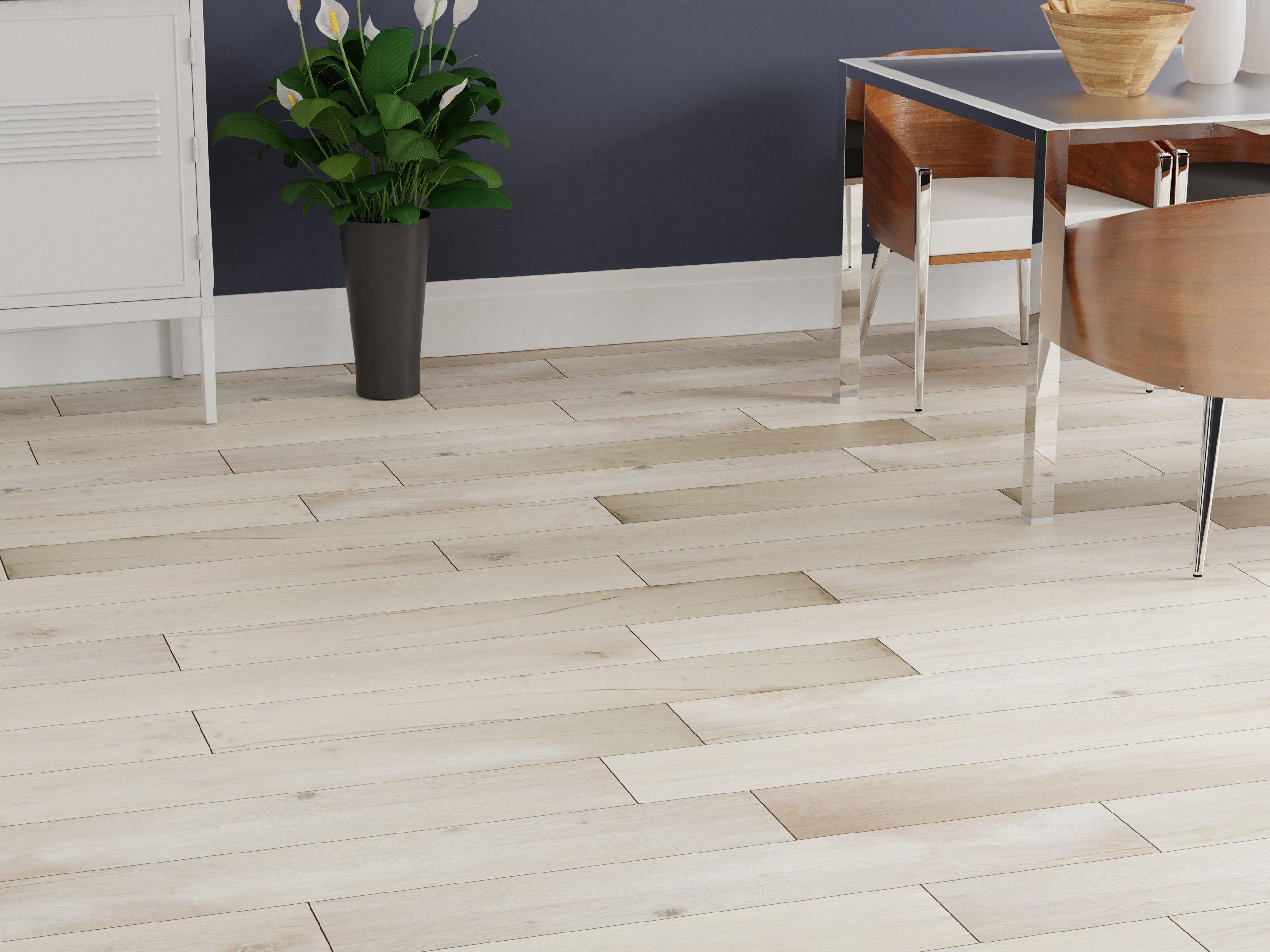birch forest gray iii wood plank porcelain tile