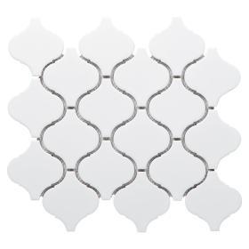 arabesque mosaic tile floor decor