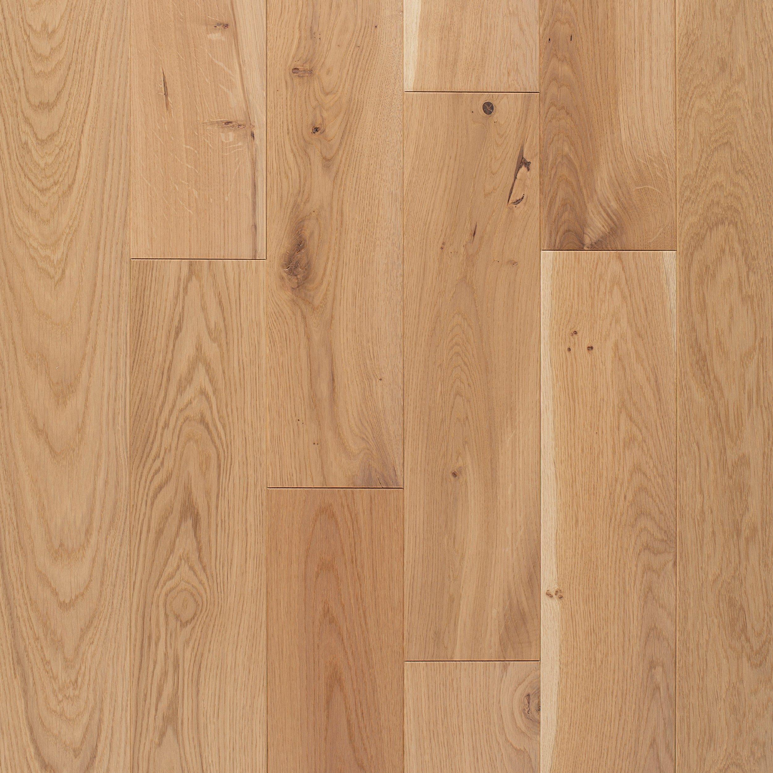 toledo white oak wire brushed solid hardwood