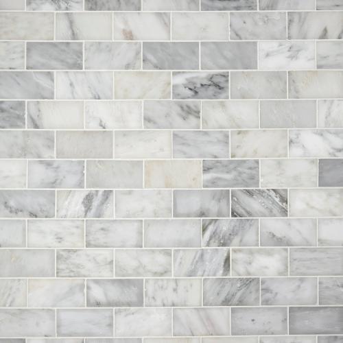 carrara white polished marble tile 3