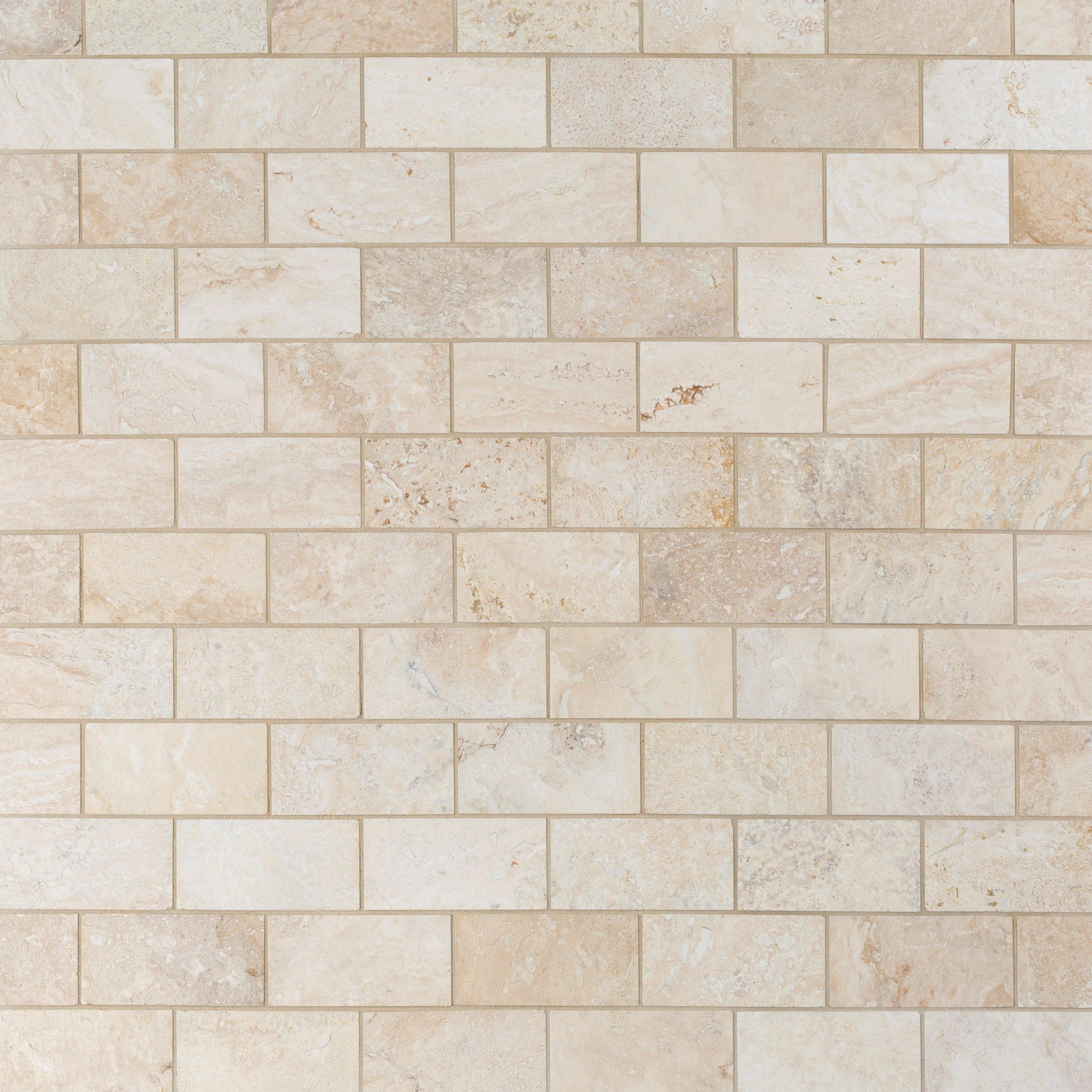 botticino marble tile 3 x 6