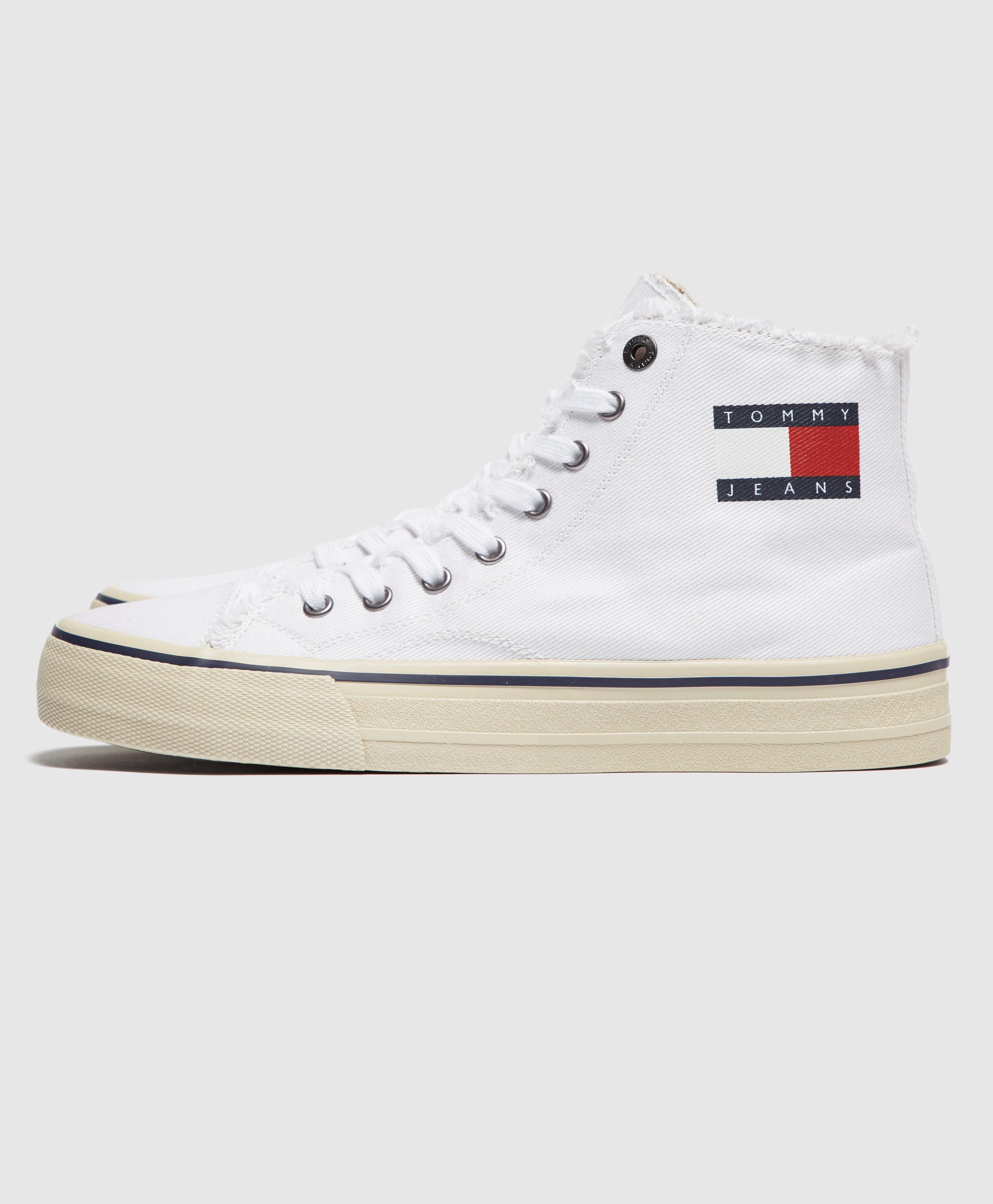 Tommy Hilfiger Logo High Top Scotts Menswear