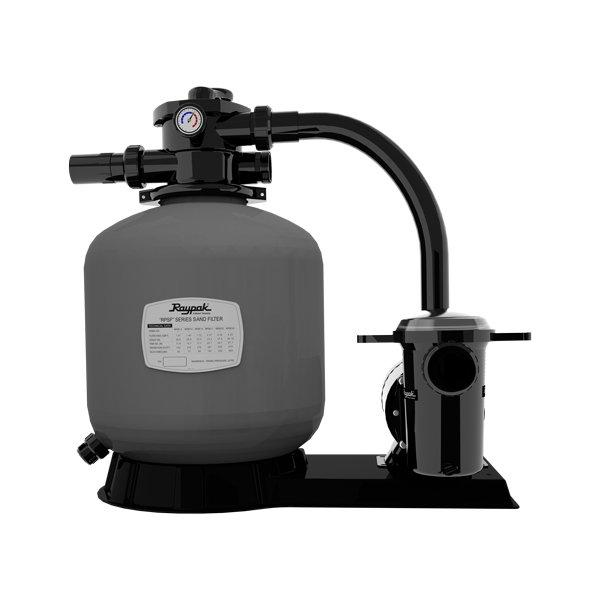 Easy assembly and efficient performance; Protege 21 Inch Sand Filter System With 1 5 Hp Pump In The Swim