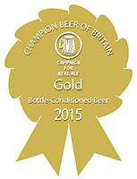 Bottled Beer Rosette - Gold