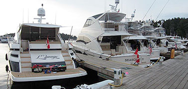 Roche Harbor Experience attracts Riviera owners from Canada and the US