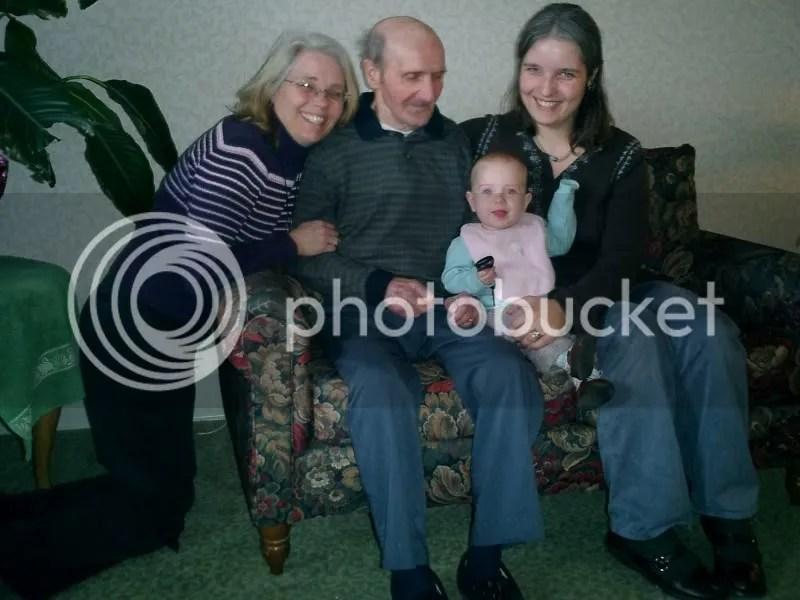 Grandpa Trinkl, Mom, Zoe & Me