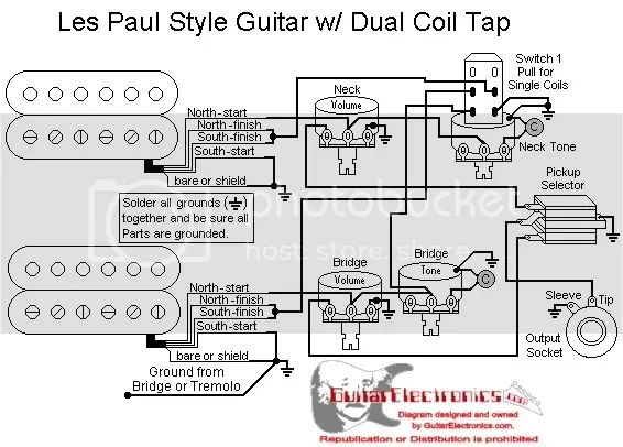 need schooled confirmation on pickup wiring harmony central