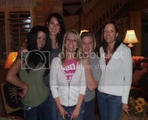 Amanda, Dawna, Becky, Chris and Cinda