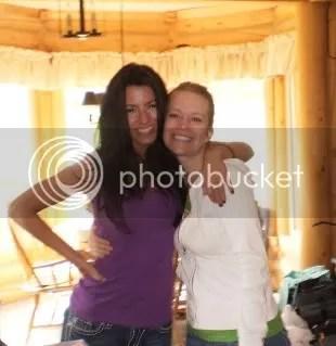 Amanda and Becky