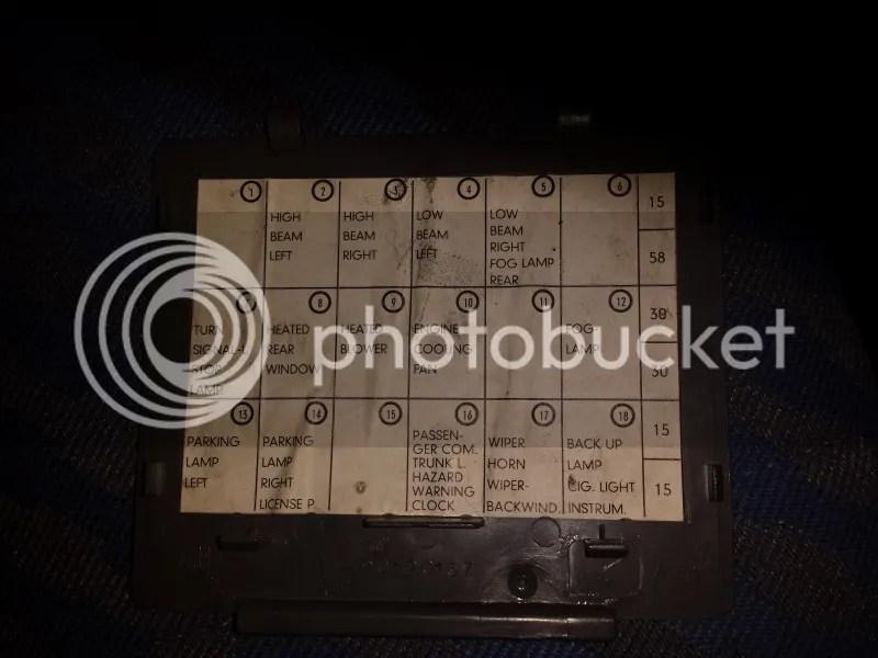 vauxhall nova fuse box layout wiring diagram - vauxhall corsa fuse box  reverse light