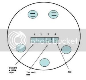 VDO Tach: Pin1,3,4 Labeling