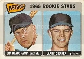 #409 Astros Rookie Stars: Jim Beauchamp and Larry Dierker photo housrooks.jpg