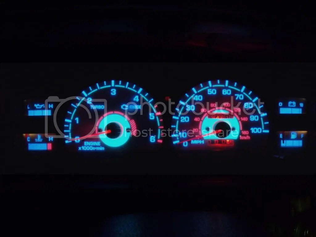 1992 toyota hilux surf wiring diagram 2006 mazda 6 radio electroluminescent dial faces how to illuminate the