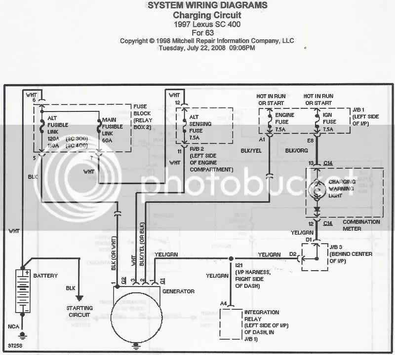 1997 SC400 Wiring Harness