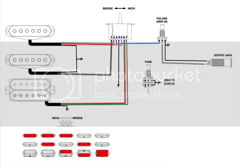 hss wiring diagram 5 way switch 2005 dodge ram 7 pin trailer help sevenstring orghss