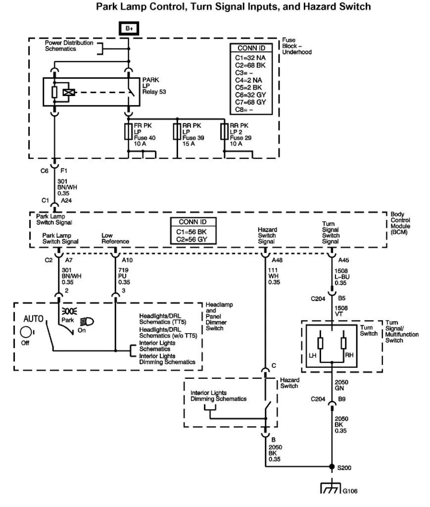 Chevy Colorado Wiring Schematic Electrical Diagram Schematics 2009 Fuse Box 2004 Doors U2022