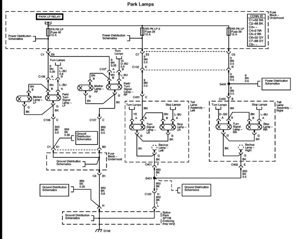 medium resolution of 2006 buick lucerne wiring diagram