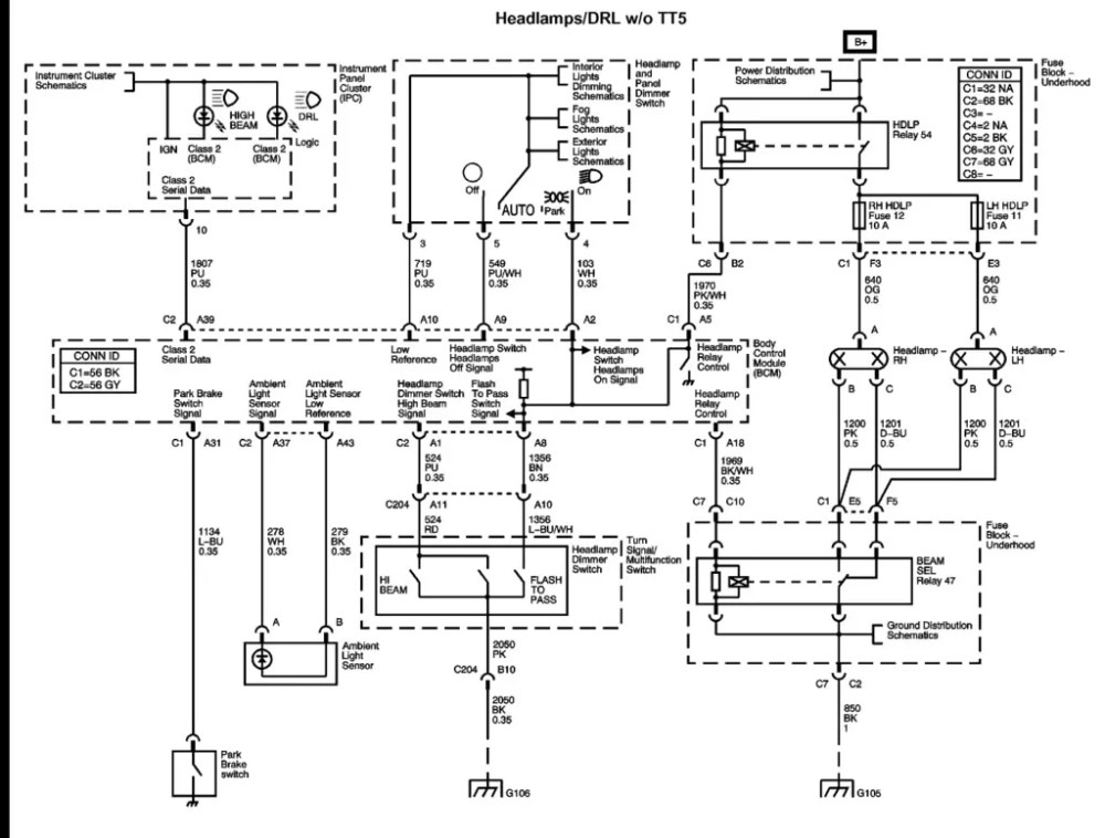 medium resolution of 2006 chevy colorado wiring diagram