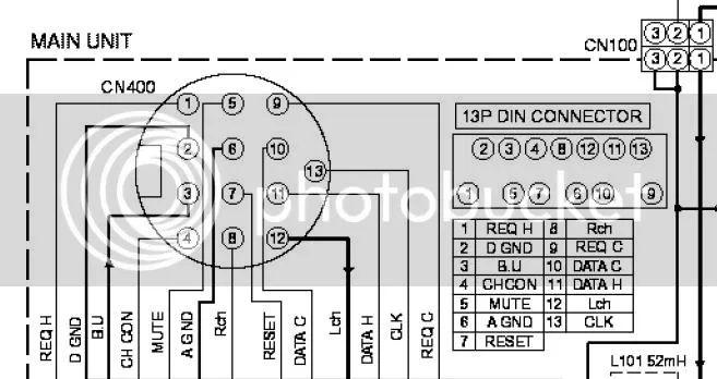 13 pin wiring diagram socket