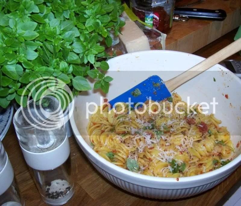 Almost-summer Pasta Salad