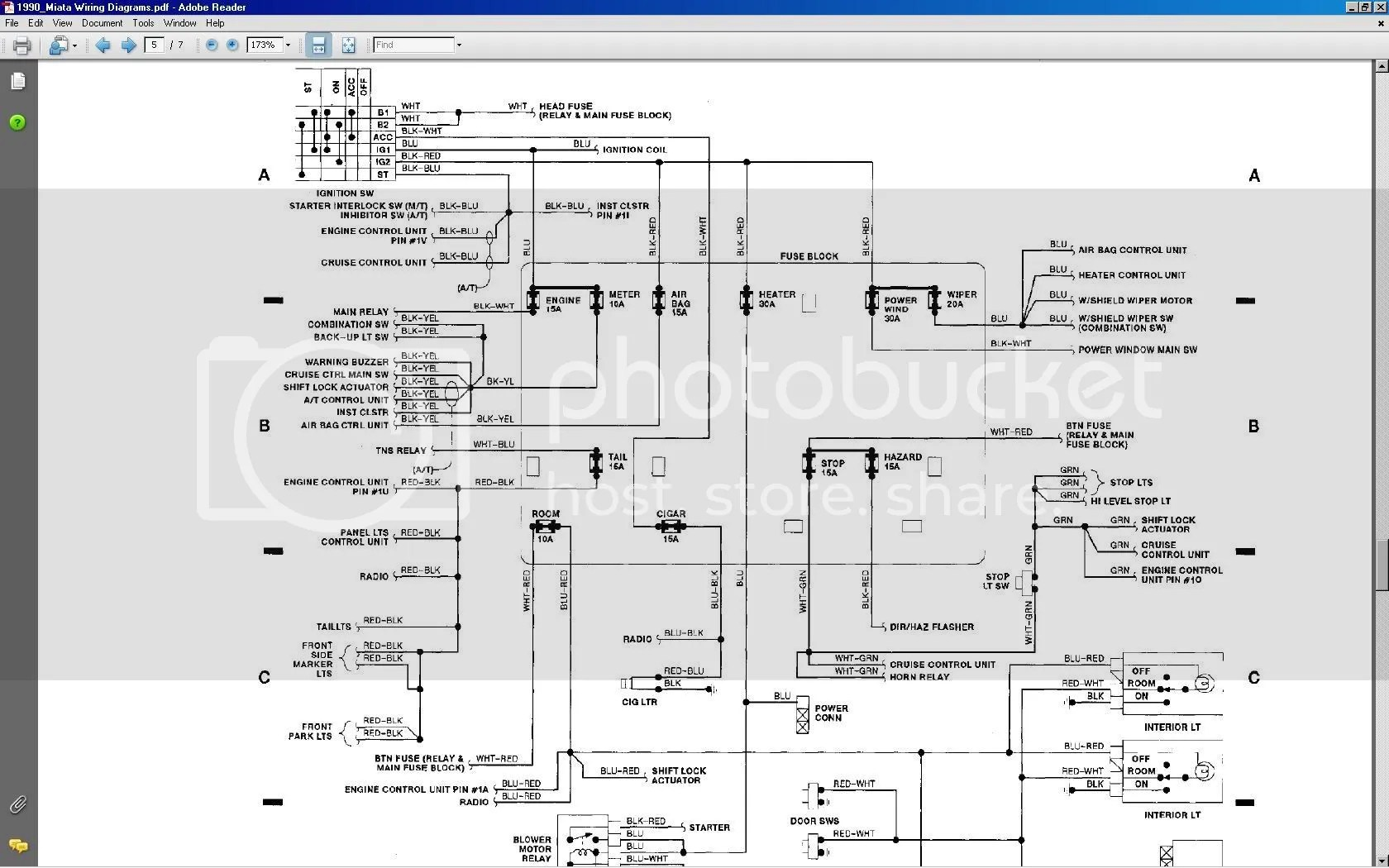 hight resolution of 94 mazda miata fuse box wiring library08 miata fuse diagram block and schematic diagrams