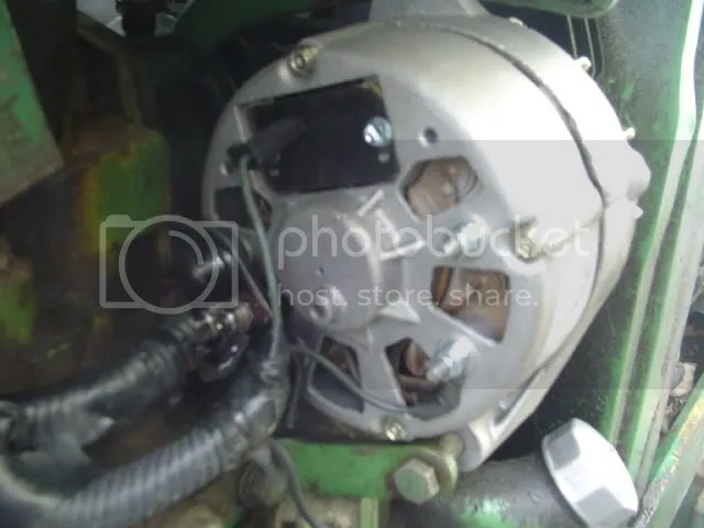 john deere alternator wiring diagram 1995 gmc sonoma radio jd 2020 12 v install yesterday s tractors third party image