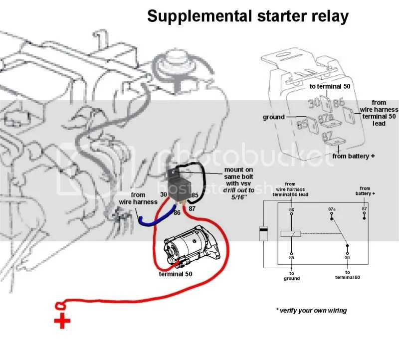 Where is the starter located on a 1990 toyota celica