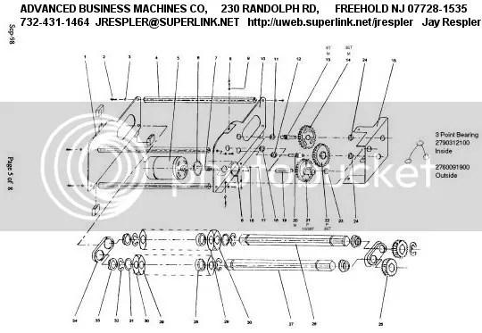 Fellowes Paper Shredder Repair Parts Diagram