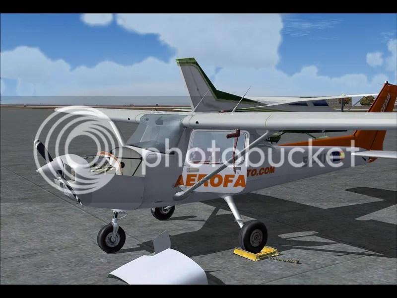 Finalizado el vuelo, revisamos el motor para dejarlo en perfecto estado!
