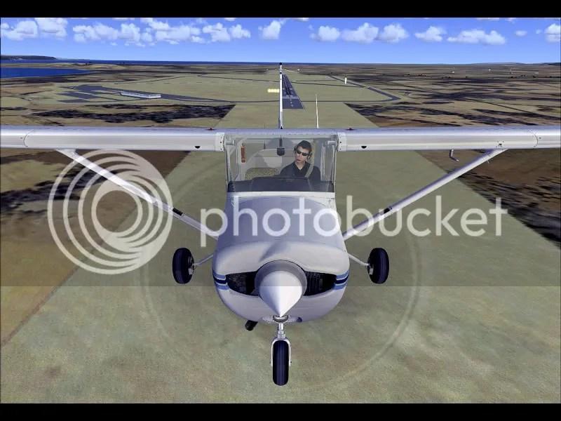 Frontal de la Cessna