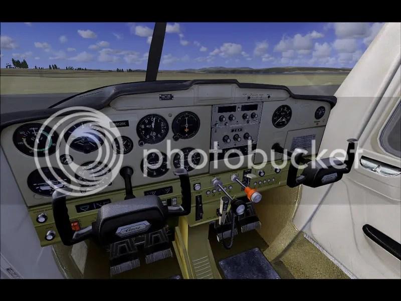 Interior del Cockpit