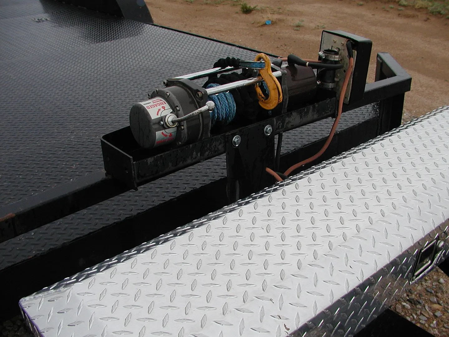 OPEN Trailer electric WINCH mounting options  Chevelle Tech