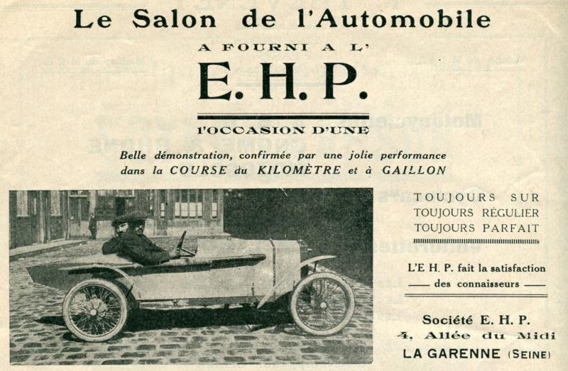 E.H.P. Cyclecar