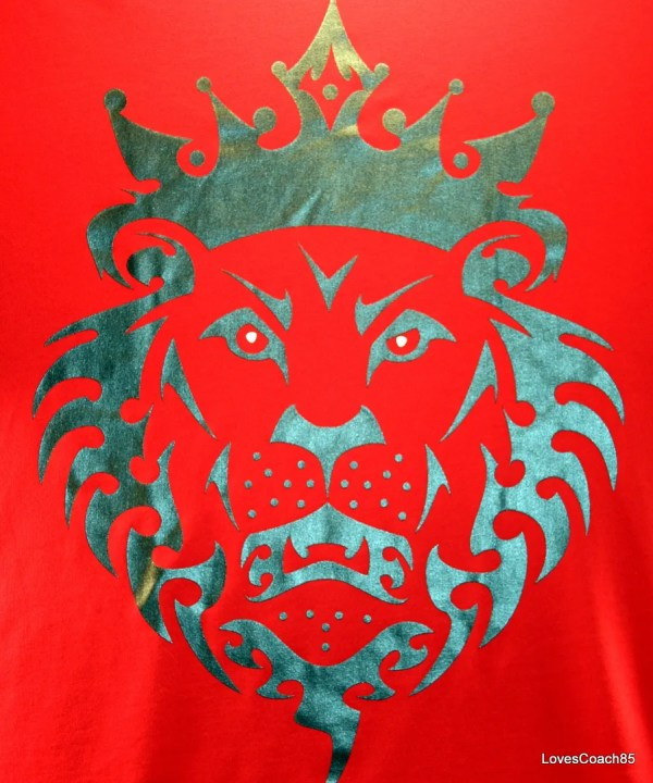 Lebron James Red Lion Logo