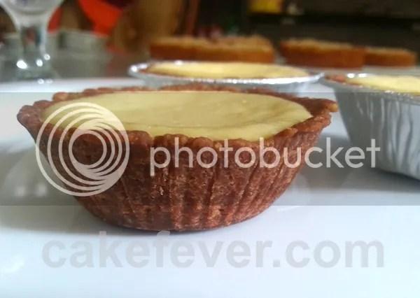 Baked Cheese Cake yang sudah didinginkan di dalam kulkas