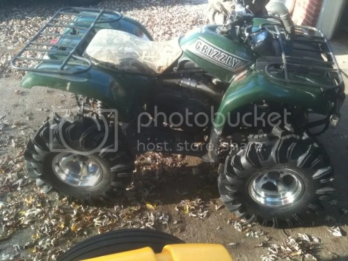 small resolution of 2002 yamaha grizzly 28 terminators sra offset rims paid for a lil 2500 dodge crew w smarty so6 magnaflow cold air kit and much more to come