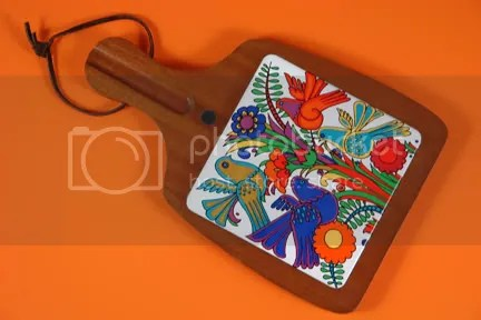 Vintage Acupulco chopping board by Villeroy & Boch