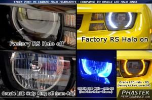 Aftermarket Camaro Headlights & Halo Kits for your 20102018 Camaro SSLSLTRS