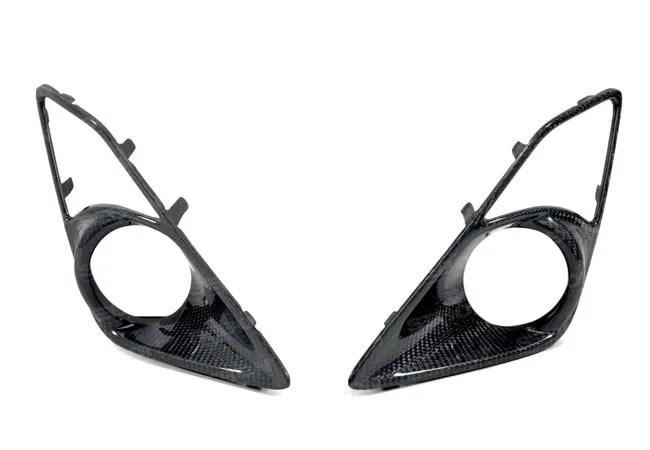 Scion FR-S OEM Style Carbon Fiber Fog Light Bezels #