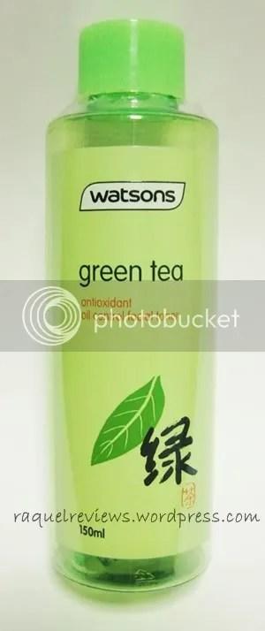 Watsons Green Tea Toner