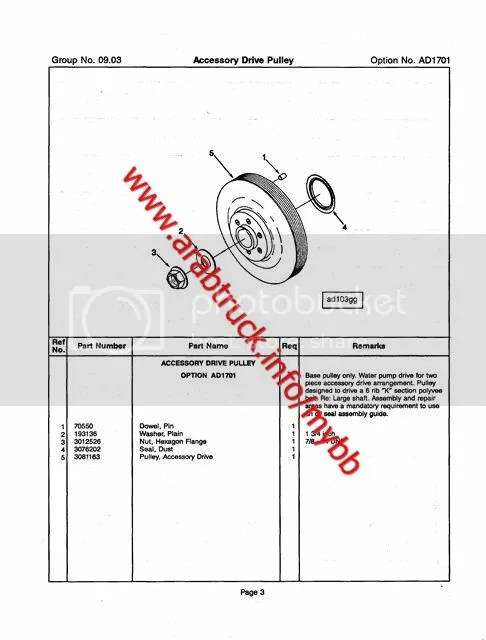 Cummins N14 Parts Catalog