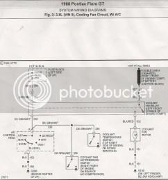 88 fiero cooling fan circuit [ 973 x 1024 Pixel ]