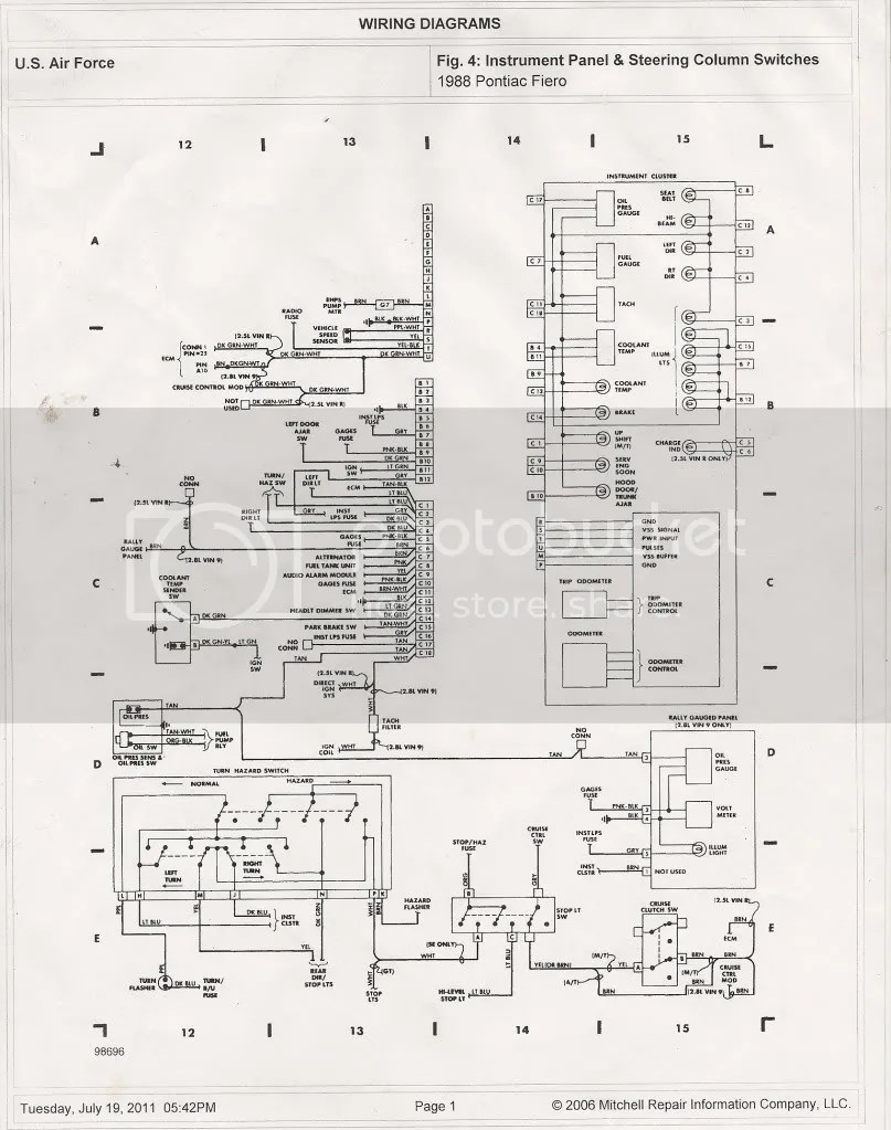 Oldsmobile Cutl Ciera Fuse Box Diagram Corvette Fuse Box