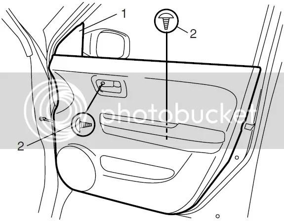 Service manual [How To Remove 2010 Suzuki Kizashi Door