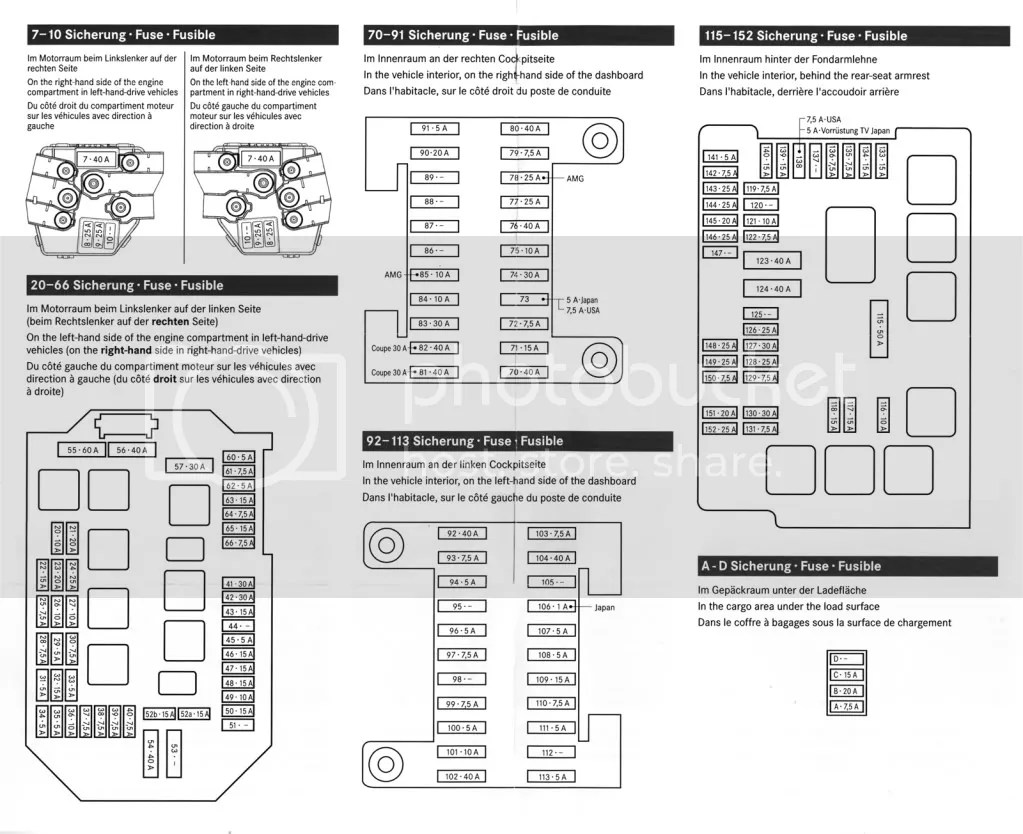 2000 Mercedes S500 Fuse Box Diagram. Mercedes. Wiring
